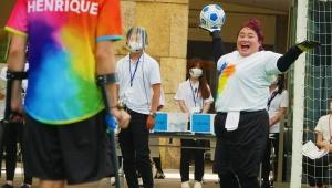 【話題】意外にも白熱する目隠しサッカー! 平等な機会とインクルーシブな世界の実現を求めP&G「Create Inclusive Sports」開催
