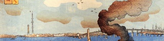 【衝撃】江戸時代に東京スカイツリーの建設が予言されていた! 浮世絵に描かれるスカイツリー